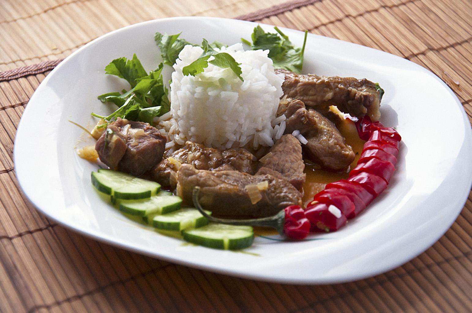 Мясо по тайски с соевым соусом рецепт с пошаговым