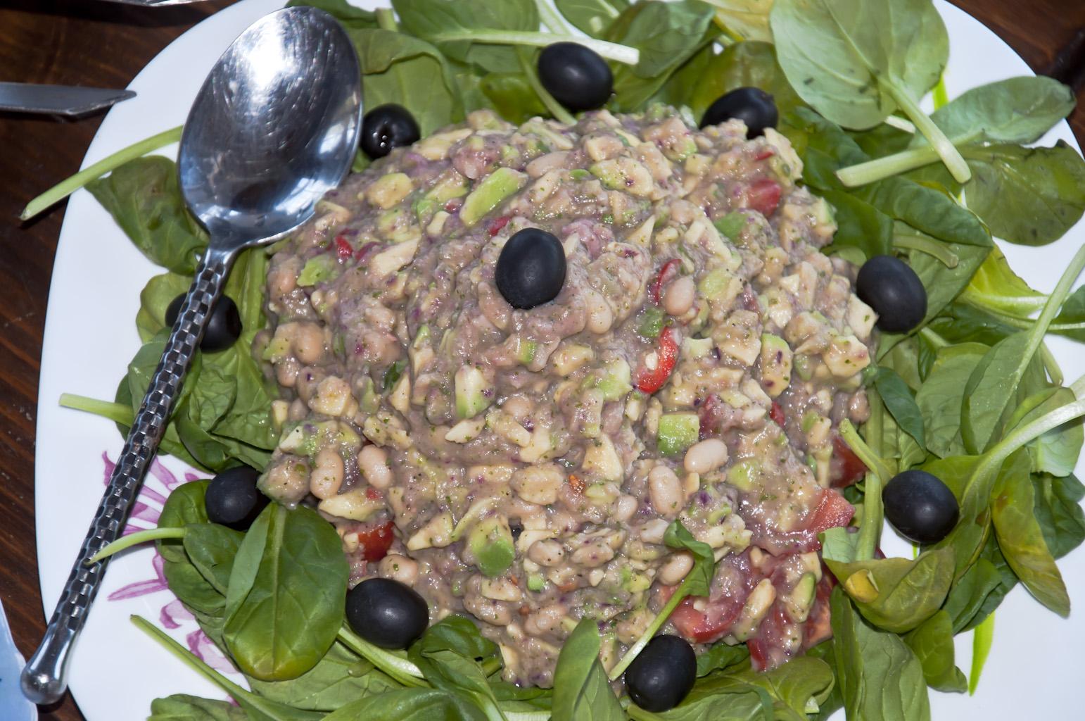 Гуакамоле с фасолью