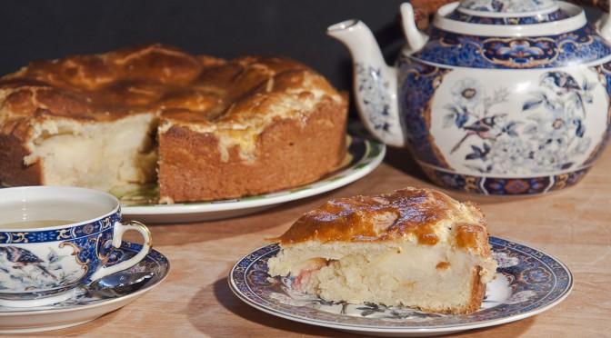 Яблочный пирог от Маши