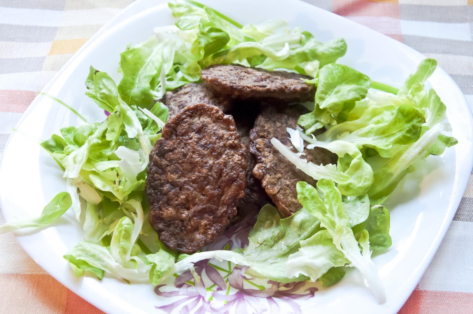 Печёночные оладьи из говяжьей печени без мясорубки рецепт с пошагово