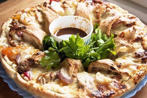 Пицца с уткой