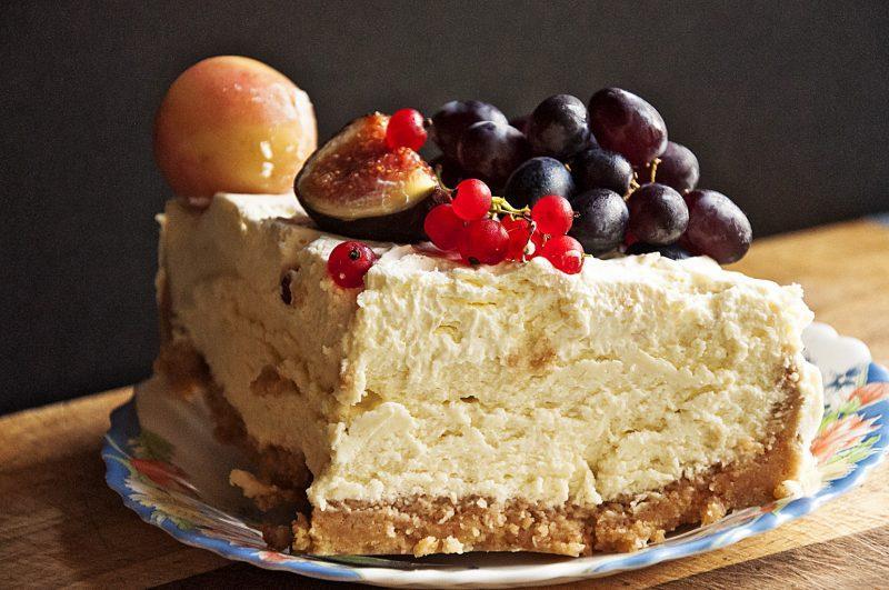 Твороженный торт