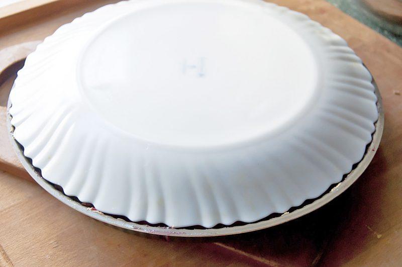 Пирог малиновый перевертыш