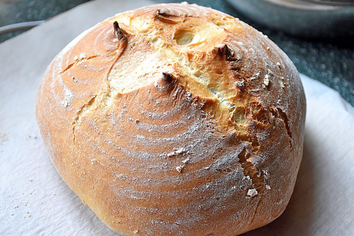Яичный белый хлеб
