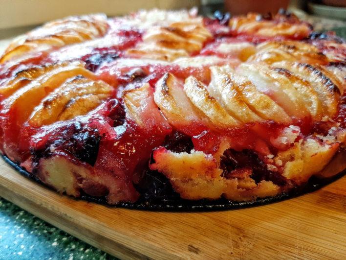 Бретонский пирог с крыжовником