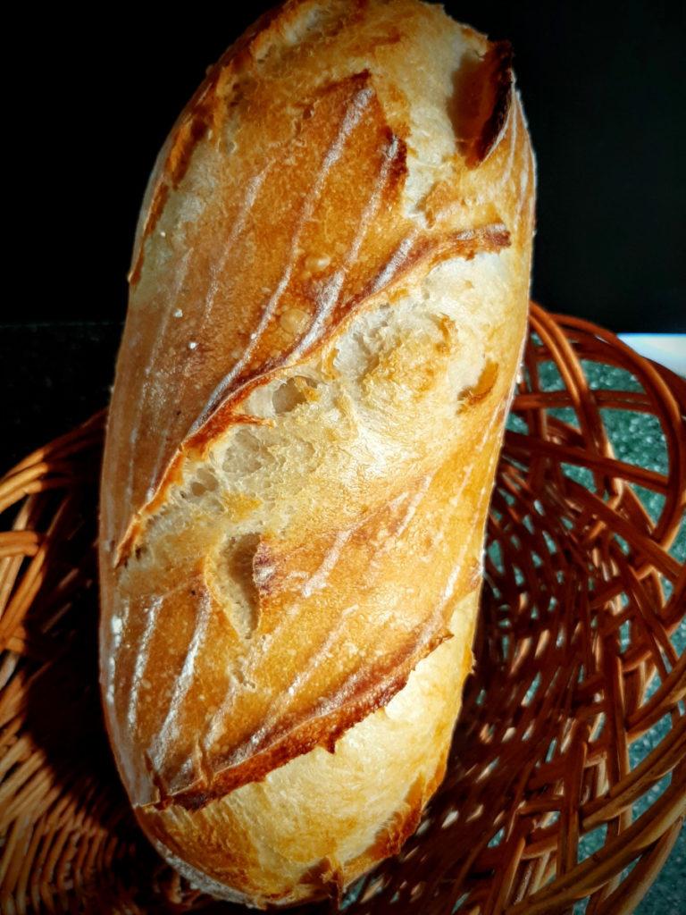 Пшеничный хлеб на ЖД